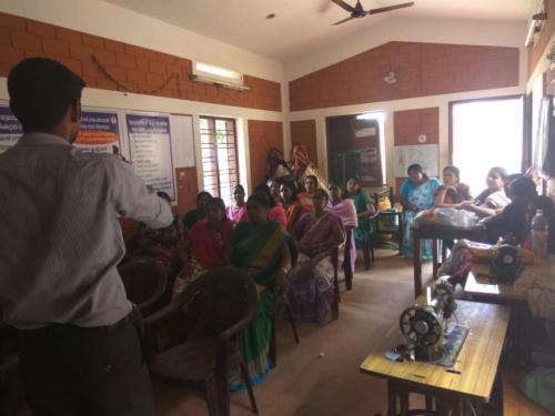 Presentation at NGOs